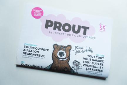 """Fanzine-Revue pour enfant """" Prout"""""""