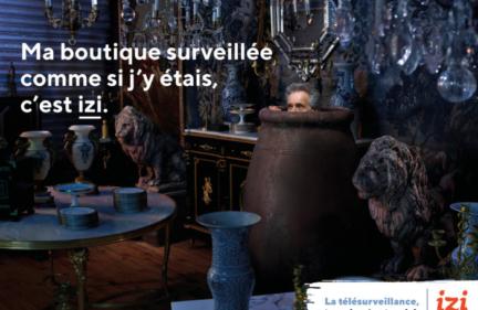 Campagne affichage Izi by Edf